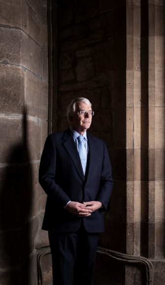 Sir John Major strikes a chord with address to North East businesses
